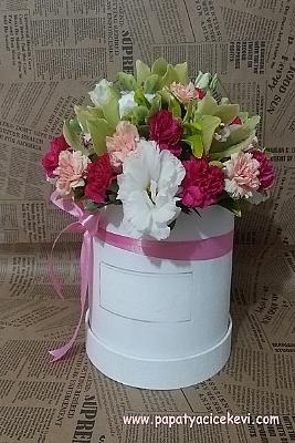 Kutu da Mevsim Çiçekleri